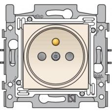 10st wandcontactdoos stopcontact 21mm original cream niko