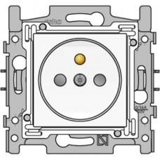 10st wandcontactdoos stopcontact 28.5mm original white niko