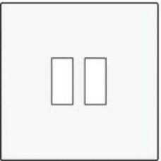 Afwerkingsset voor USB-lader, white