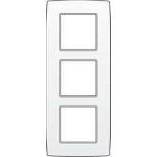 afdekplaat drievoudig verticaal original white