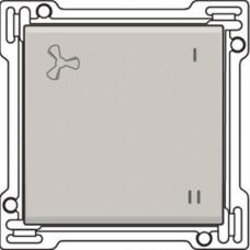 Afwerkingsset voor schakelaar voor mechanische motorsturing, Light grey