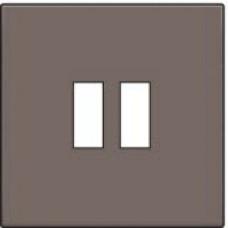 Afwerkingsset voor USB-lader, greige