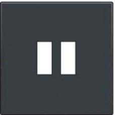 Afwerkingsset voor USB-lader, anthracite