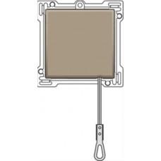 Afwerkingsset voor trekdrukknop, Bronze