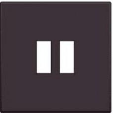 Afwerkingsset voor USB-lader, dark brown