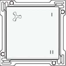 Afwerkingsset voor schakelaar voor mechanische motorsturing, White coated