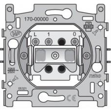 Sokkel voor drukknop N.O. met 3 aansluitklemmen