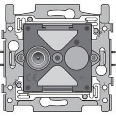 sokkel coax-aansluiting 1x enkelvoudig mannelijk