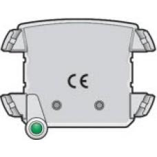 Verlichtingseenheid met groene led voor stopcontact met spanningsaanduiding