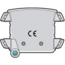 Verlichtingseenheid met blauwe led voor stopcontact met spanningsaanduiding