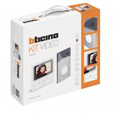 BTICINO - AVT - Videokit kleur  1 drukknop Linea 3000 + Classe 100V16E