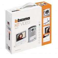 BTICINO - Videokit met 1 drukknop Linea 2000 + Classe100V16B