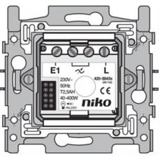 aktor 1 kanaal 400w sokkel 2-draads voor digitale timer of bewegingsmelder 180°