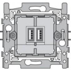 USB-lader voor inbouw, sokkel met klauwbevestiging
