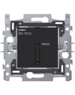 Sokkel voor geconnecteerde enkelvoudige schakelaar, 10A  voor Niko Home Control (traditionele bekabeling)