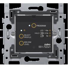 Geconnecteerde dimmer 3-200W 2-draads voor Niko Home Control (traditionele bekabeling)