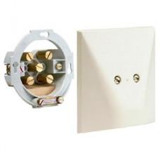 aansluitdoos voor vaste verbinding 2,5mm met 5 klemmen