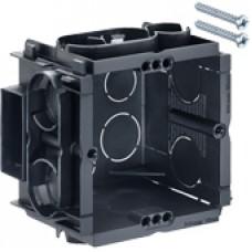 Q-range inbouwdoos 60x60x50 mm (incl. 2 schroeven) 10 stuks