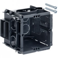 Q-range inbouwdoos 60x60x65 mm (incl. 2 schroeven) 10 stuks