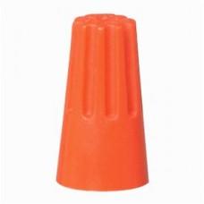 lasdop schroefop capaciteit 1,5-2.5mm²  oranje 100 stuks