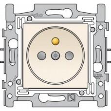 10st wandcontactdoos stopcontact 28.5mm original cream niko