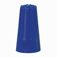 lasdop schroefop capaciteit 1,5mm²  blauw 100 stuks