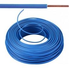 Vob H07V-U Eca installatiedraad 1,5mm² blauw  - 100 meter
