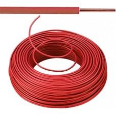 Vob H07V-U Eca installatiedraad 1,5mm² - rood 100 meter