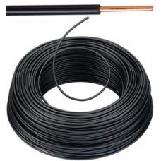 Vob H07V-U Eca installatiedraad 1,5mm² - zwart 100 meter